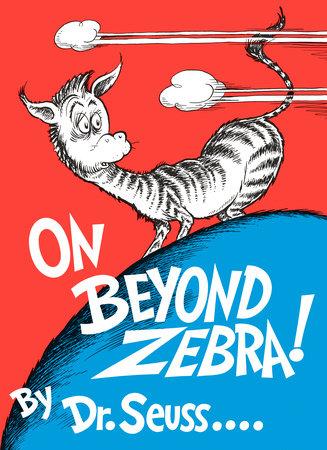 On Beyond Zebra! Cover