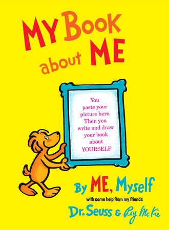 My Book About Me By ME Myself Cover