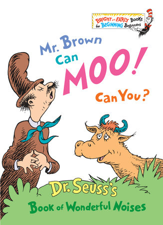 Mr. Brown Can Moo! Can You? Cover