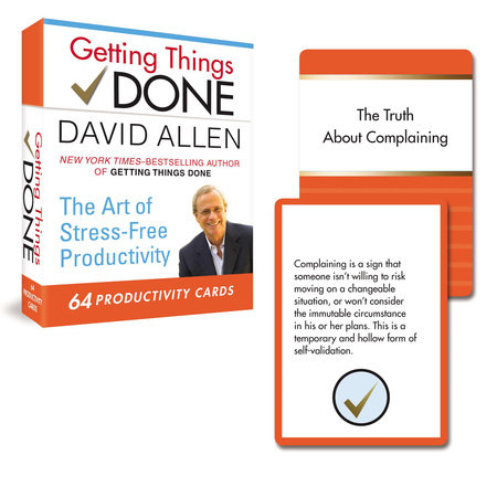 Getting Things Done: 64 Productivity Cards by David Allen