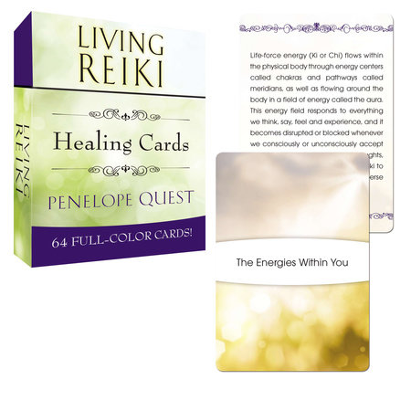 Living Reiki Healing Cards by Penelope Quest