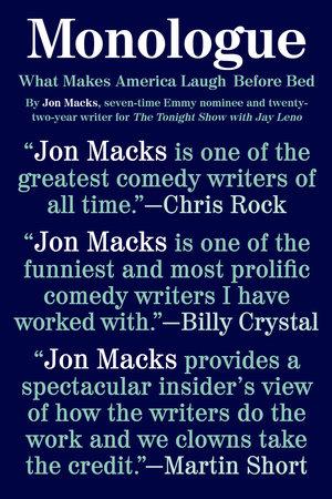 Monologue by Jon Macks