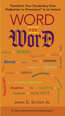 Word for Word by James E. Snyder Jr.