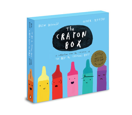 The Crayon Box: The Day the Crayons Quit Slipcased edition by Drew Daywalt