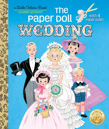 The Paper Doll Wedding by Hilda Miloche