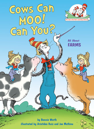 Cows Can Moo! Can You? Cover
