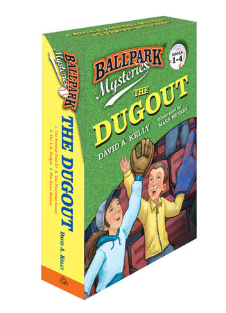 Ballpark Mysteries: The Dugout boxed set (books 1-4) by David A. Kelly