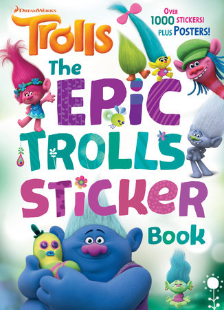 The Epic Trolls Sticker Book (DreamWorks Trolls) by Rachel Chlebowski