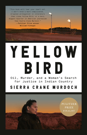 Book cover, Yellow Bird, nonfiction by Sierra Crane Murdoch