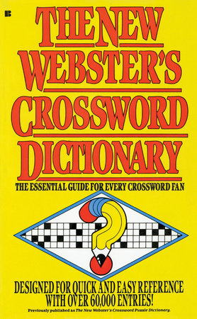 The New Webster's Crossword Dictionary by Lexicon Publications