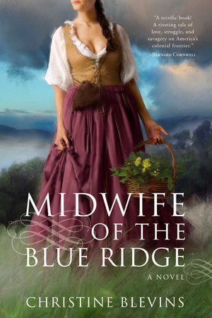 Midwife of the Blue Ridge by Christine Blevins