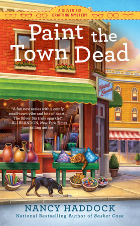 Paint the Town Dead by Nancy Haddock