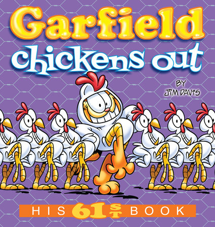 Garfield Chickens Out by Jim Davis