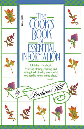 Cook's Book of Essential Information by Barbara Hill