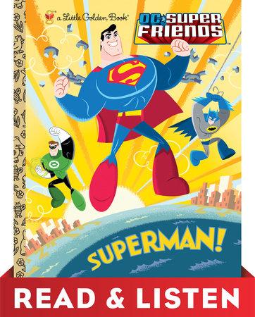 Superman! (DC Super Friends) Read & Listen Edition by Billy Wrecks