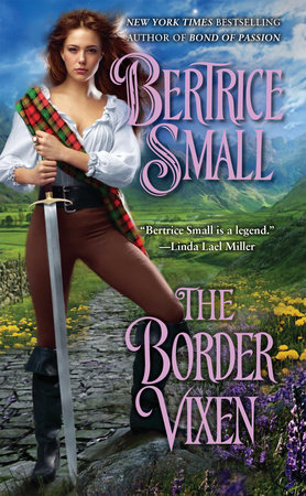 The Border Vixen by Bertrice Small