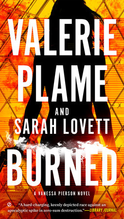 Burned by Valerie Plame, Sarah Lovett