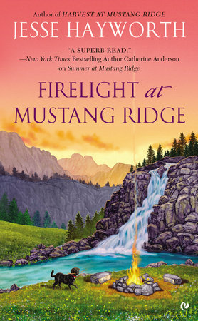 Firelight at Mustang Ridge by Jesse Hayworth