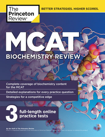 MCAT Biochemistry Review by The Princeton Review