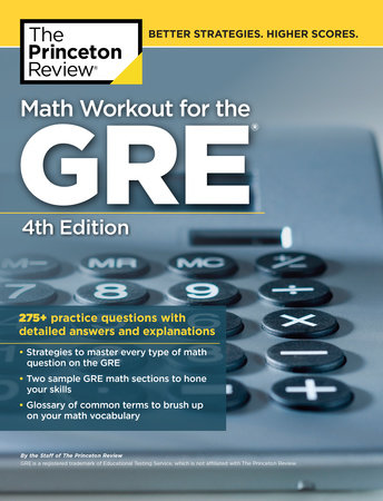Math Workout for the GRE, 4th Edition by The Princeton Review