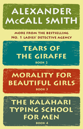The No. 1 Ladies' Detective Agency Box Set (Books 2-4) by Alexander McCall Smith