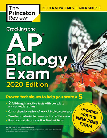 Cracking the AP Biology Exam, 2020 Edition by The Princeton Review