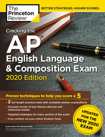 Cracking the AP English Language & Composition Exam, 2020 Edition by The Princeton Review