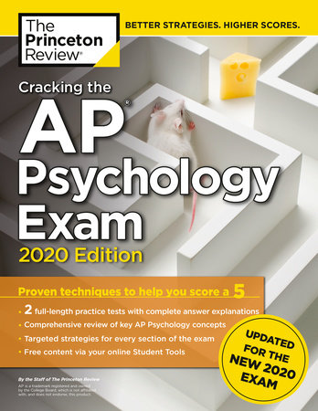 Cracking the AP Psychology Exam, 2020 Edition by The Princeton Review