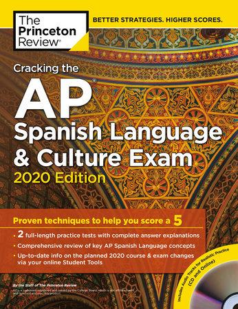 Cracking the AP Spanish Language & Culture Exam with Audio CD, 2020 Edition  by The Princeton Review | PenguinRandomHouse com: Books