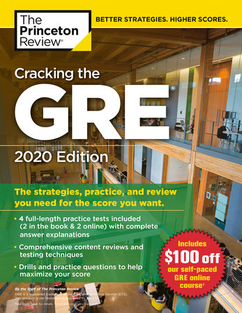 Tests Com Reviews >> Cracking The Gre With 4 Practice Tests 2020 Edition By The Princeton Review Penguinrandomhouse Com Books