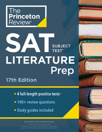 Princeton Review SAT Subject Test Literature Prep, 17th Edition