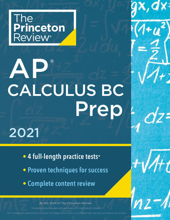 Princeton Review AP Calculus BC Prep, 2021 by The Princeton Review