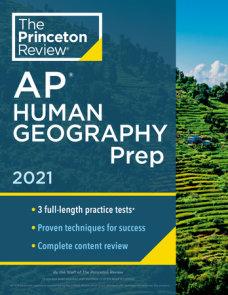 Princeton Review AP Human Geography Prep, 2021