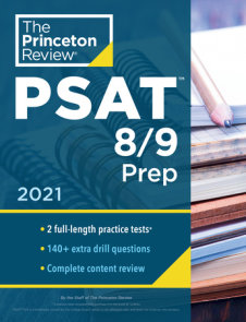 Princeton Review PSAT 8/9 Prep