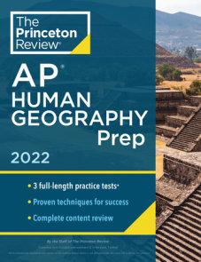 Princeton Review AP Human Geography Prep, 2022