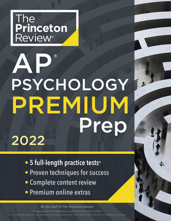 Princeton Review AP Psychology Premium Prep, 2022 by The Princeton Review
