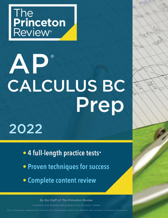 Princeton Review AP Calculus BC Prep, 2022 by The Princeton Review