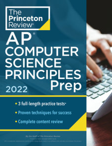 Princeton Review AP Computer Science Principles Prep, 2022