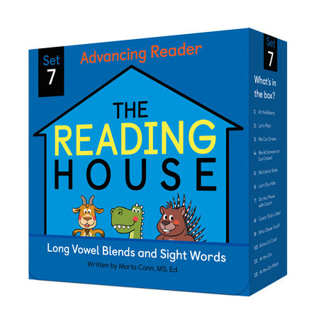The Reading House Set 7: Long Vowel Blends and Sight Words by Marla Conn