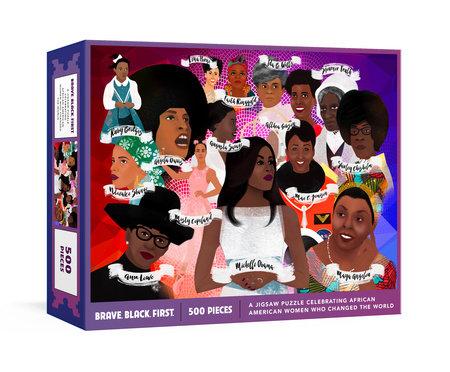 Brave. Black. First. Puzzle by Cheryl Hudson
