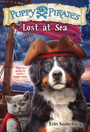 Puppy Pirates #7: Lost at Sea by Erin Soderberg
