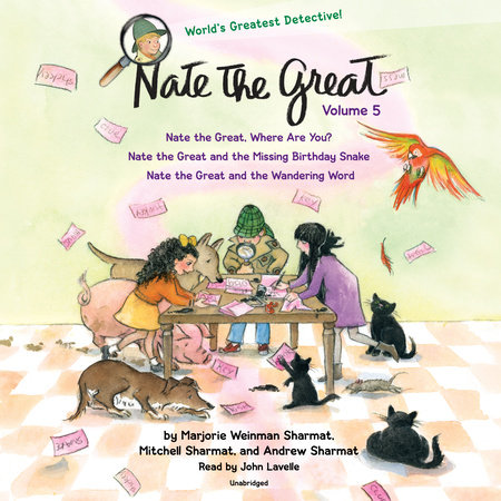 Nate the Great Collected Stories: Volume 5 by Andrew Sharmat, Marjorie Weinman Sharmat and Mitchell Sharmat