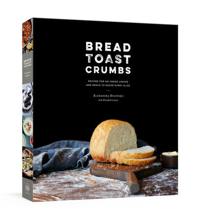 Bread Toast Crumbs by Alexandra Stafford