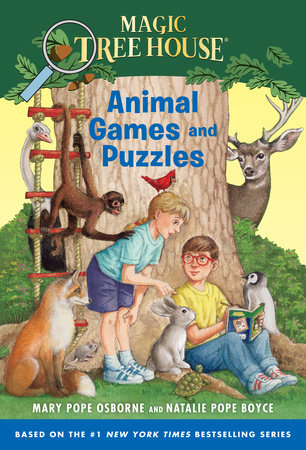 Animal Games and Puzzles by Mary Pope Osborne and Natalie Pope Boyce