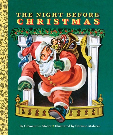 The Night Before Christmas by Clement C. Moore; illustrated by Douglas Gorsline