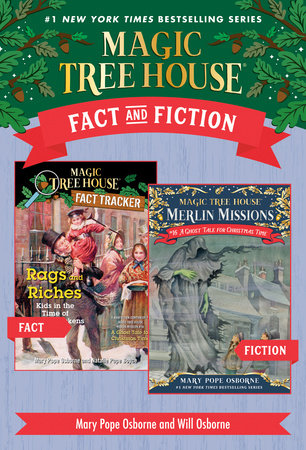 Magic Tree House Fact & Fiction: Charles Dickens by Mary Pope Osborne and Natalie Pope Boyce