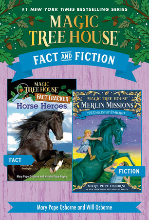 Magic Tree House Fact & Fiction: Horses by Mary Pope Osborne and Natalie Pope Boyce