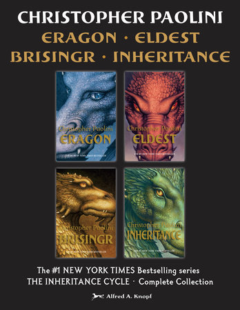 The Inheritance Cycle 4-Book Collection by Christopher Paolini