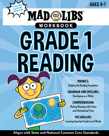 Mad Libs Workbook: Grade 1 Reading by Mad Libs