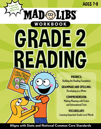 Mad Libs Workbook: Grade 2 Reading by Mad Libs